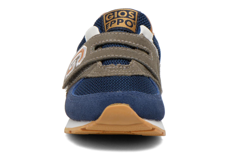 Baskets Gioseppo Sochi Bleu vue portées chaussures