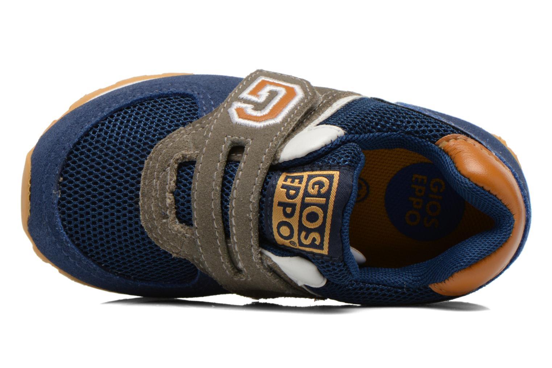 Baskets Gioseppo Sochi Bleu vue gauche