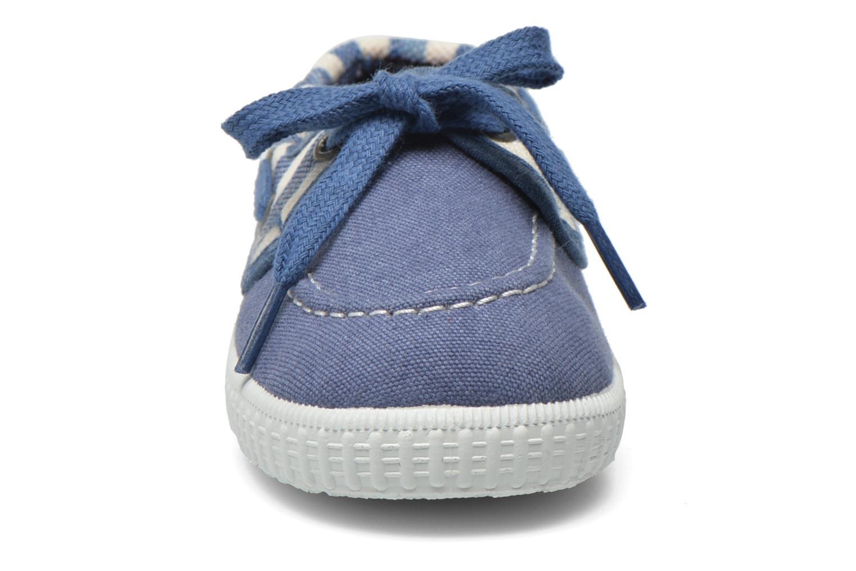 Schnürschuhe Gioseppo Dinant blau schuhe getragen