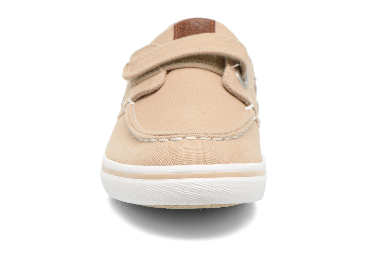 Chaussures à scratch Gioseppo Goliat Beige vue portées chaussures