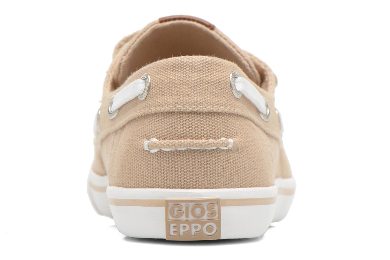 Chaussures à scratch Gioseppo Goliat Beige vue droite