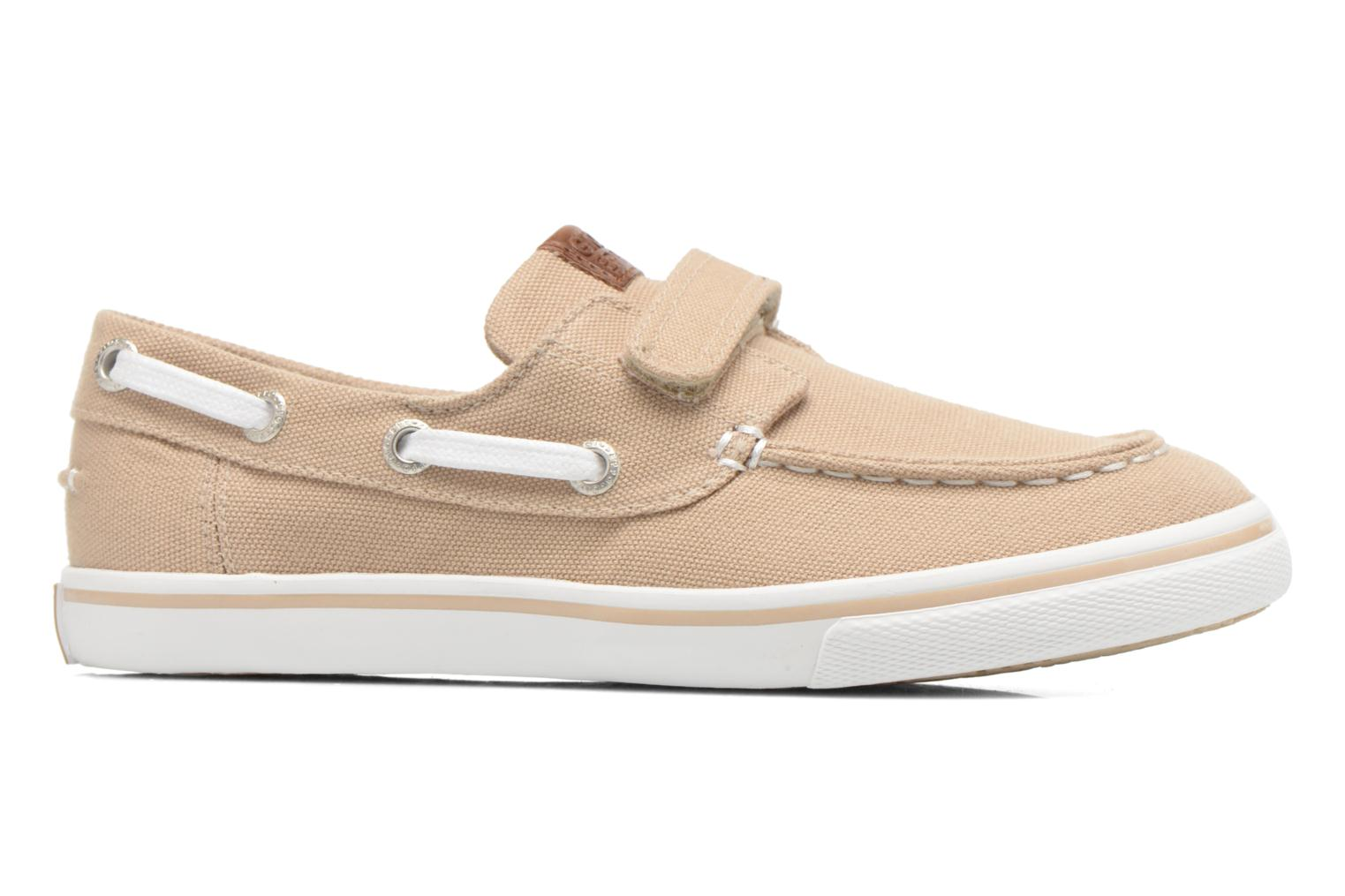 Velcro shoes Gioseppo Goliat Beige back view