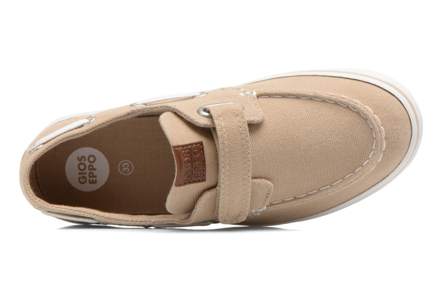 Velcro shoes Gioseppo Goliat Beige view from the left