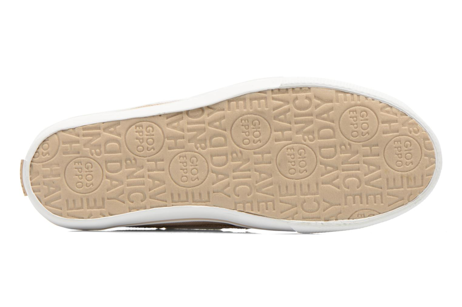 Velcro shoes Gioseppo Goliat Beige view from above