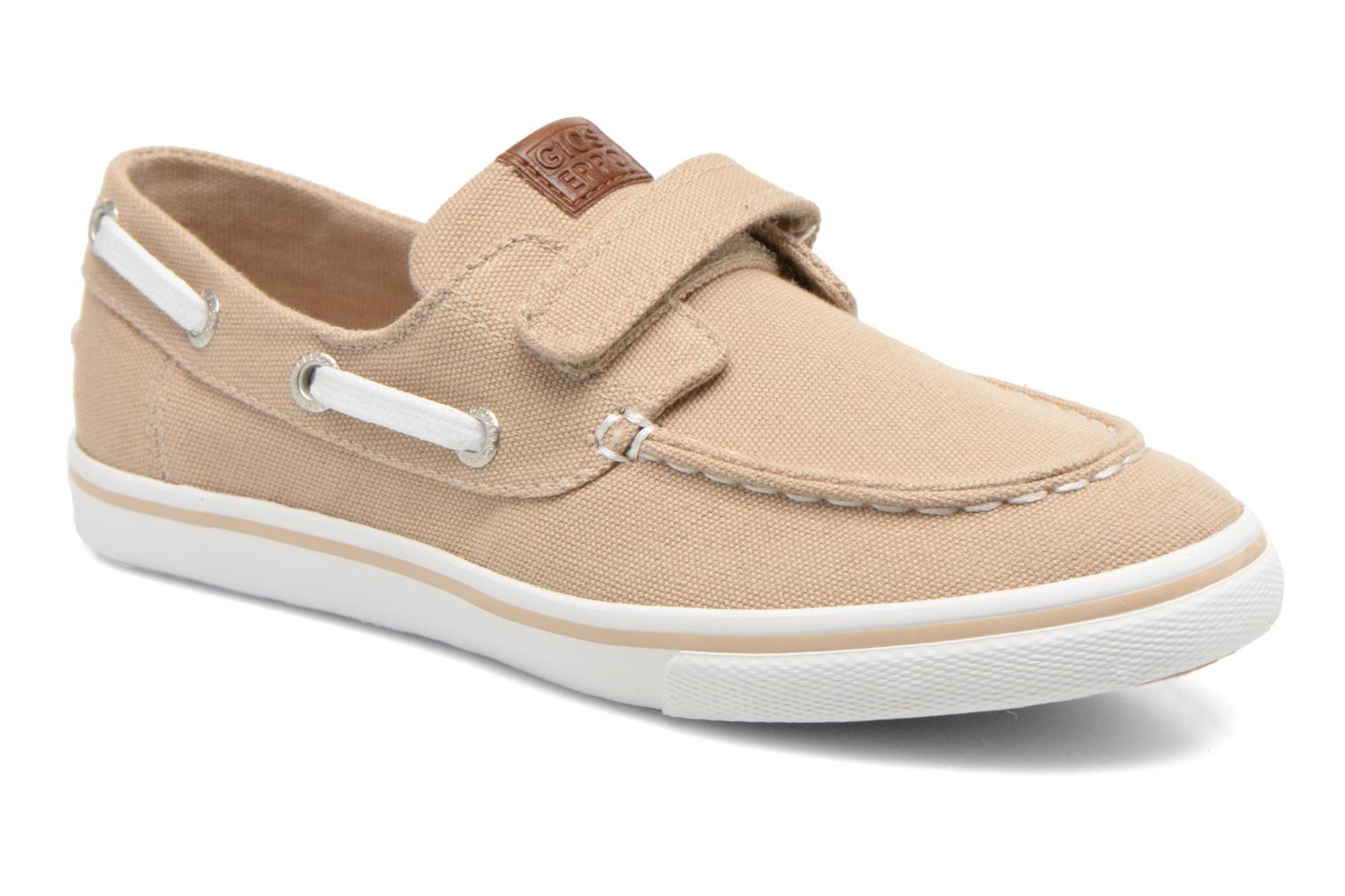 Velcro shoes Gioseppo Goliat Beige detailed view/ Pair view