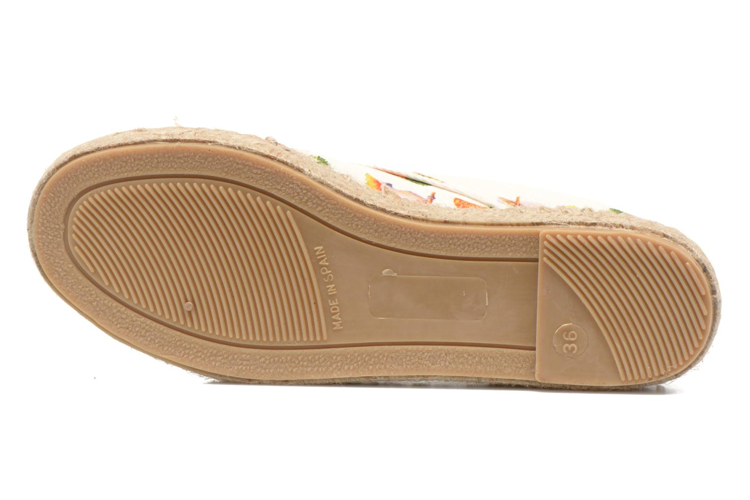 Espadrilles Gioseppo Lapinta Beige view from above