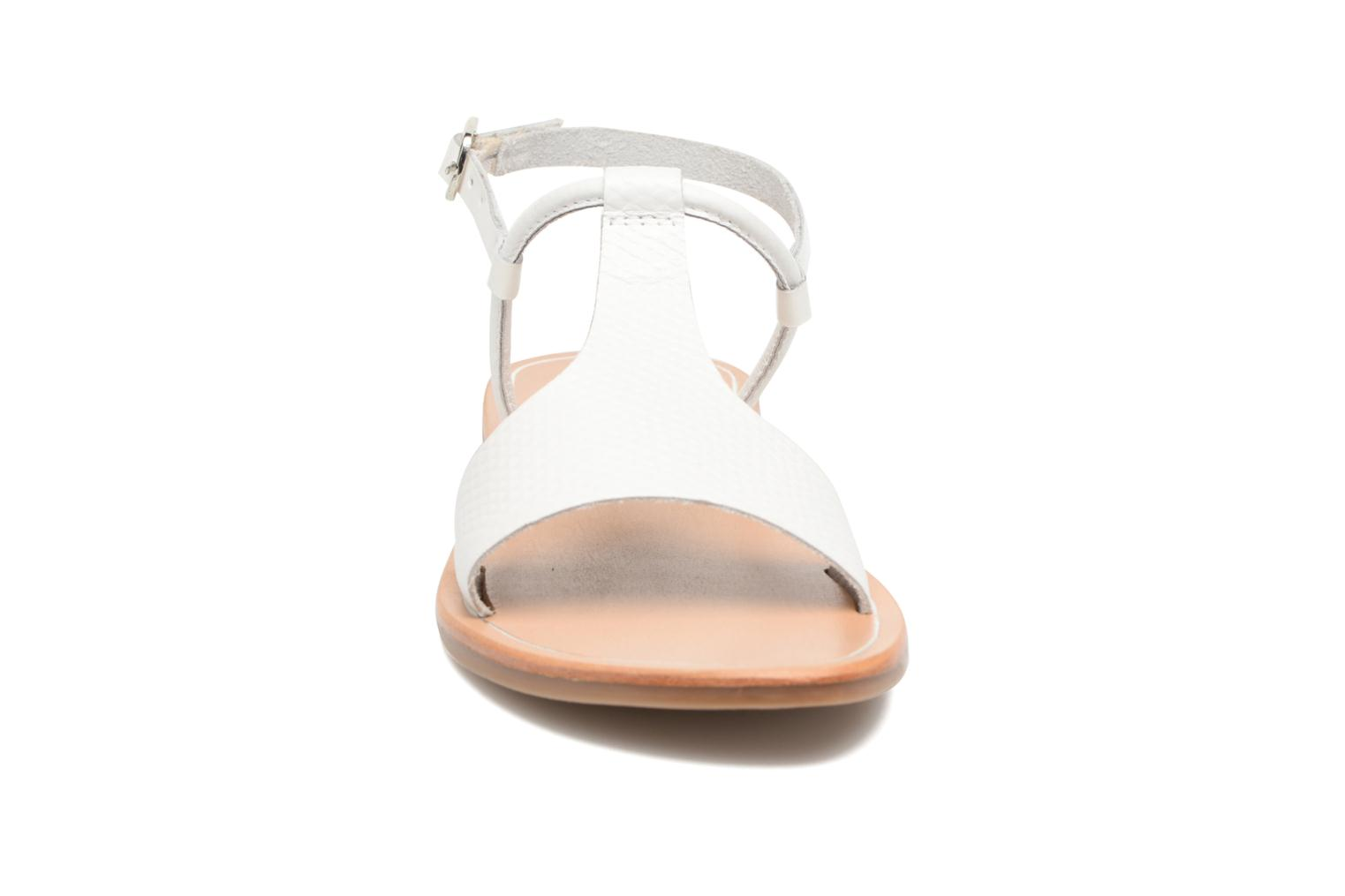 Sandals Gioseppo Bavana White model view