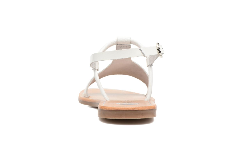 Sandali e scarpe aperte Gioseppo Bavana Bianco immagine destra