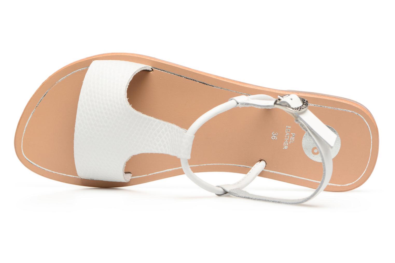 Sandali e scarpe aperte Gioseppo Bavana Bianco immagine sinistra