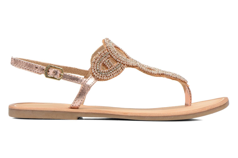 Sandales et nu-pieds Gioseppo Ami Rose vue derrière