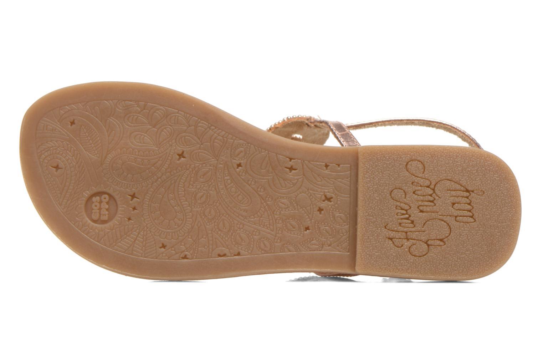 Sandales et nu-pieds Gioseppo Ami Rose vue haut