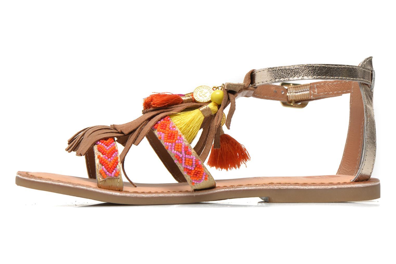Sandales et nu-pieds Gioseppo Dima Marron vue face