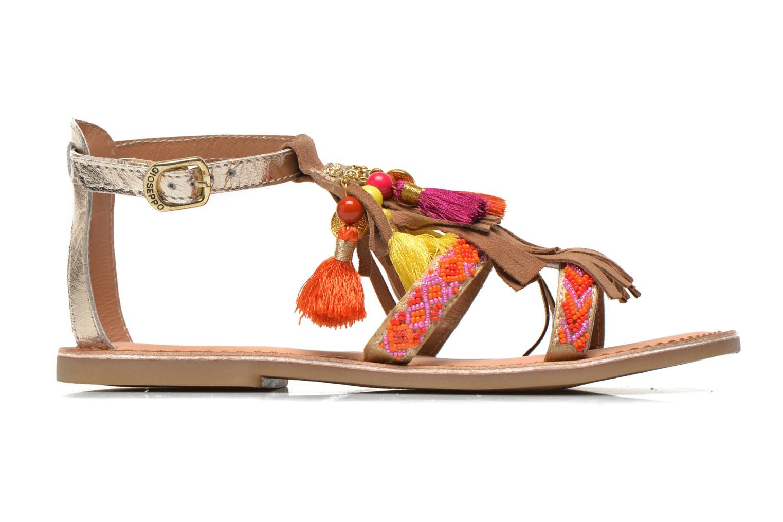 Sandales et nu-pieds Gioseppo Dima Marron vue derrière