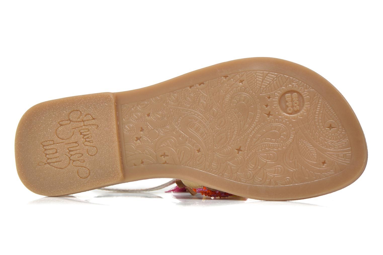 Sandales et nu-pieds Gioseppo Dima Marron vue haut