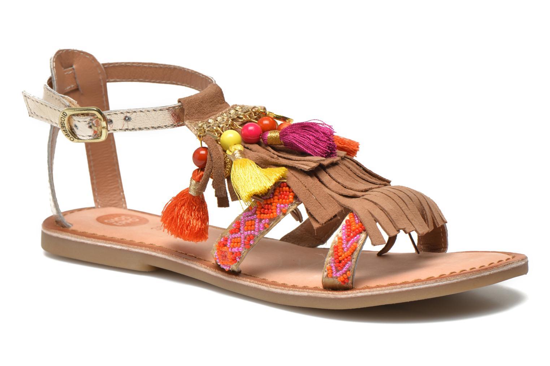 Sandales et nu-pieds Gioseppo Dima Marron vue détail/paire