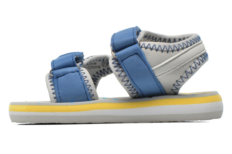 Sandales et nu-pieds Gioseppo Flete Gris vue face