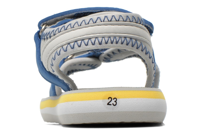 Sandales et nu-pieds Gioseppo Flete Gris vue droite