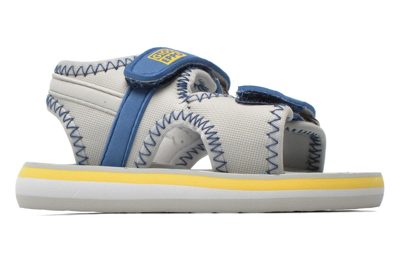 Sandales et nu-pieds Gioseppo Flete Gris vue derrière
