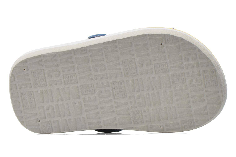 Sandales et nu-pieds Gioseppo Flete Gris vue haut