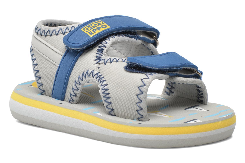 Sandales et nu-pieds Gioseppo Flete Gris vue détail/paire