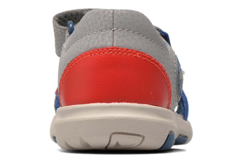 Sandales et nu-pieds Clarks FlyingSolo Inf Rouge vue droite