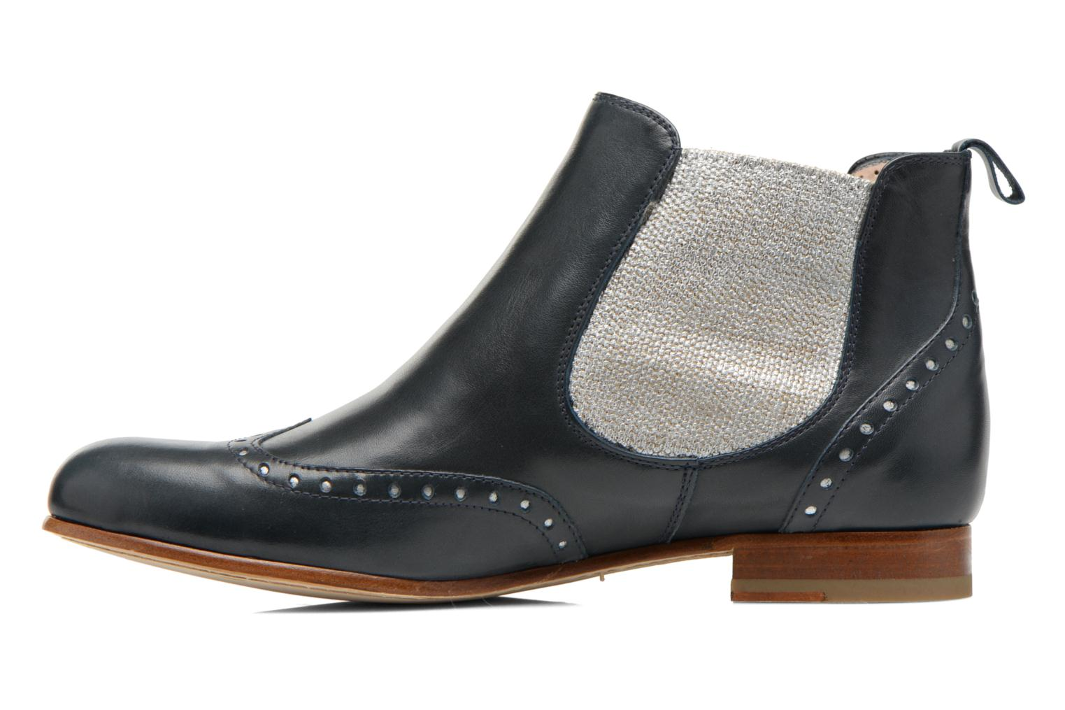Ankle boots Georgia Rose Perla Blue front view