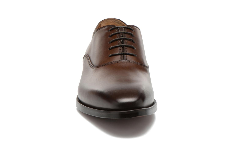 Schnürschuhe Doucal's Guido braun schuhe getragen
