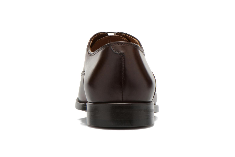 Chaussures à lacets Doucal's Guido Marron vue droite