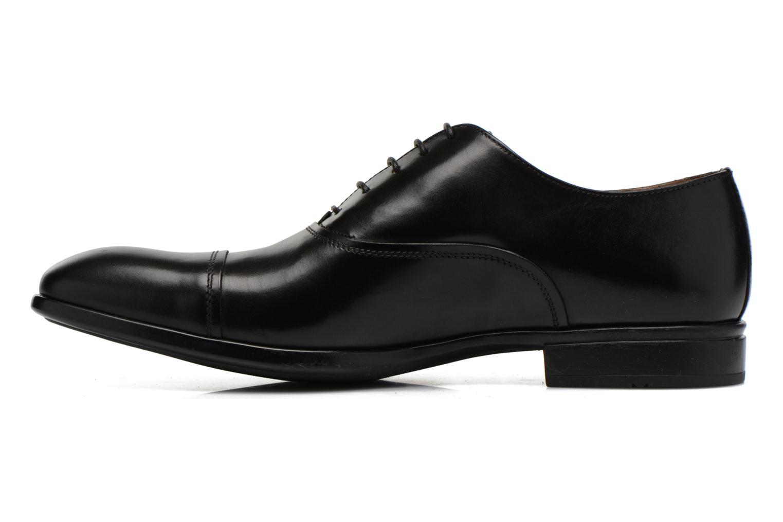 Snörade skor Doucal's Omar short Svart bild från framsidan