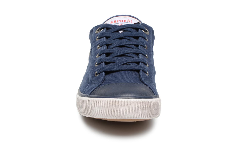 Baskets Kaporal Icare Bleu vue portées chaussures