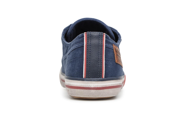Baskets Kaporal Icare Bleu vue droite