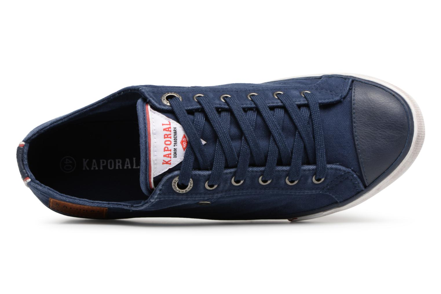 Trainers Kaporal Icare Blue view from the left