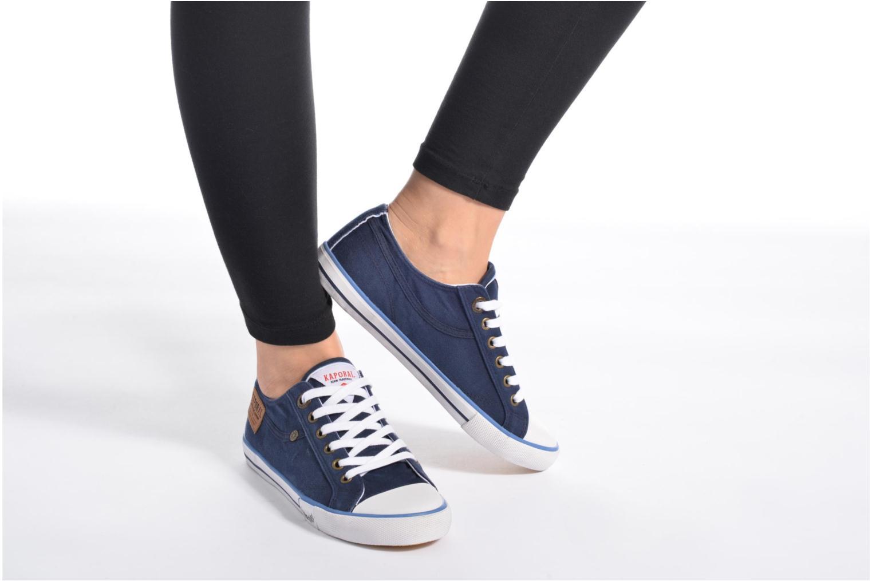 Sneaker Kaporal Icare W blau ansicht von unten / tasche getragen