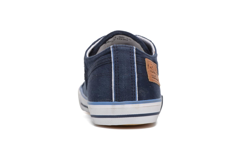 Sneaker Kaporal Icare W blau ansicht von rechts