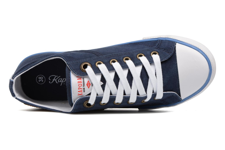 Sneaker Kaporal Icare W blau ansicht von links