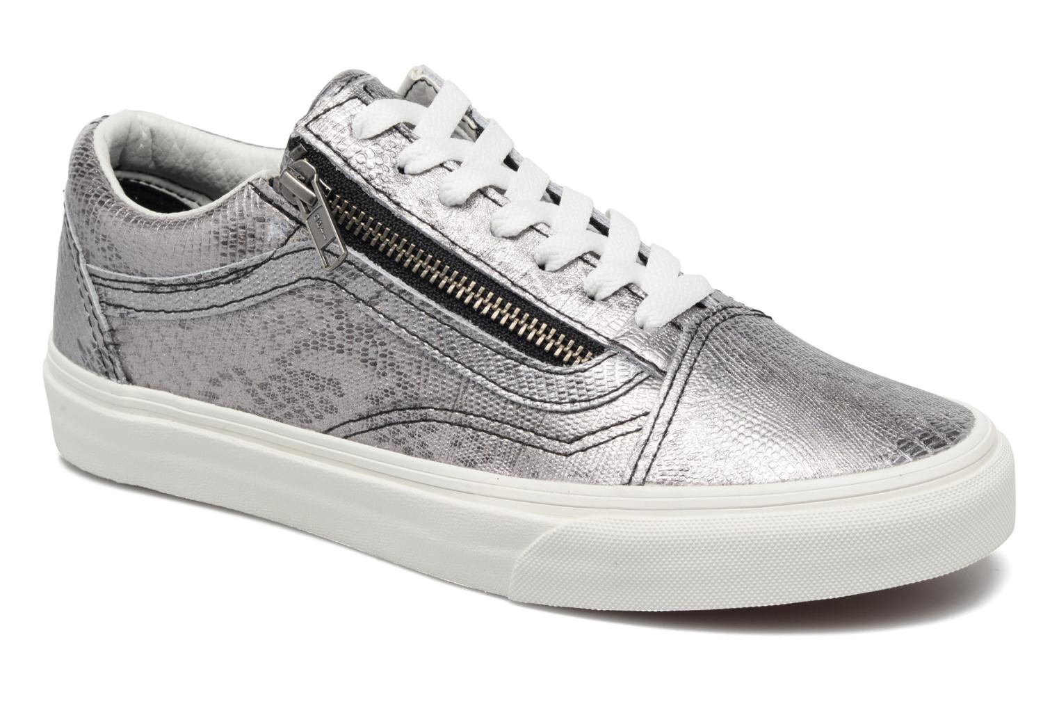 Old Skool Zip (Disco Python) BlackBlanc de Blanc
