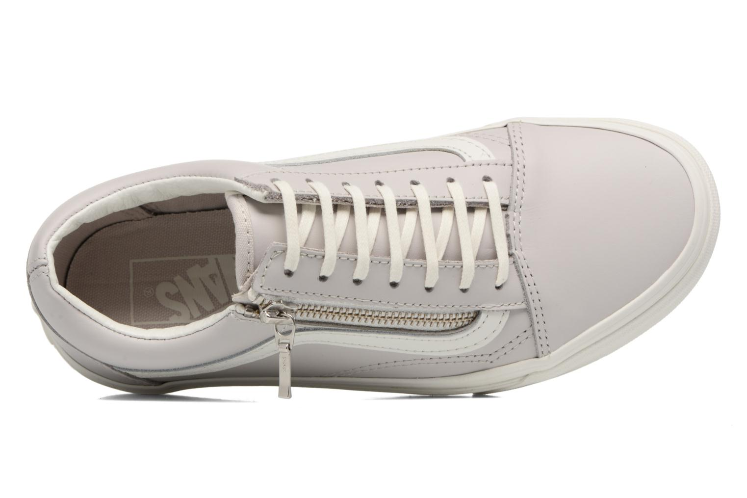 Sneaker Vans Old Skool Zip grau ansicht von links