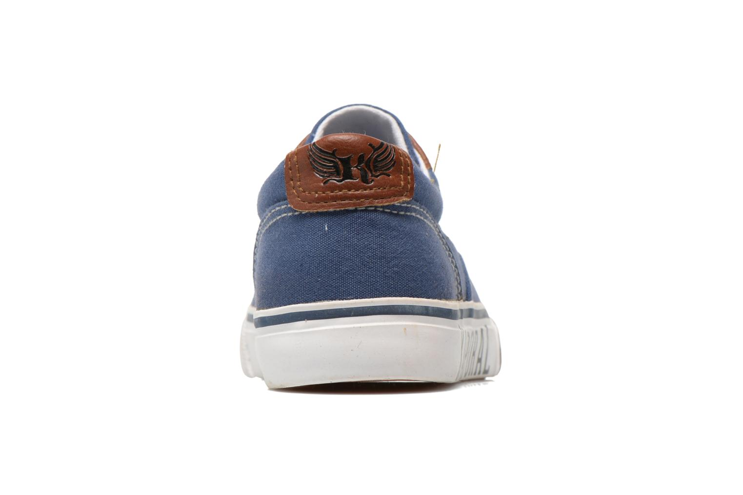 Trainers Kaporal Veliko Blue view from the right