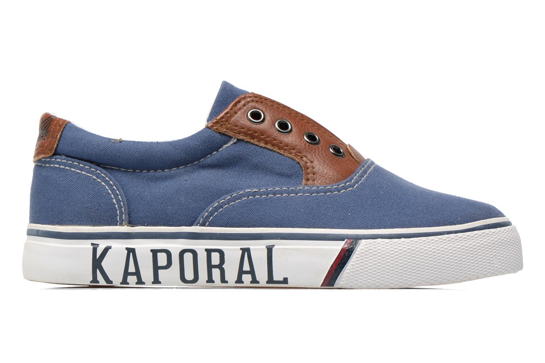 Baskets Kaporal Veliko Bleu vue derrière