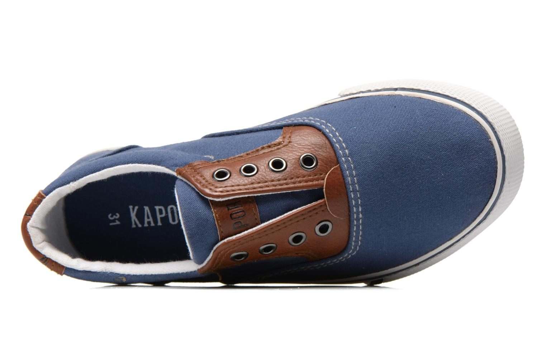 Sneaker Kaporal Veliko blau ansicht von links