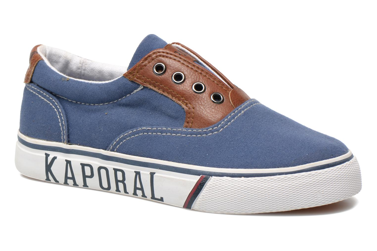 Trainers Kaporal Veliko Blue detailed view/ Pair view