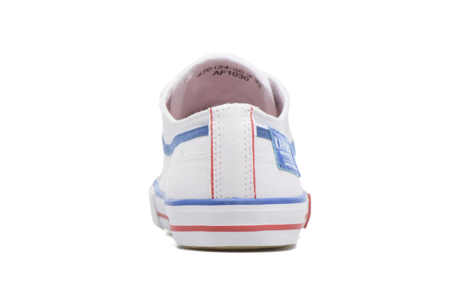 Trainers Kaporal Icario White view from the right