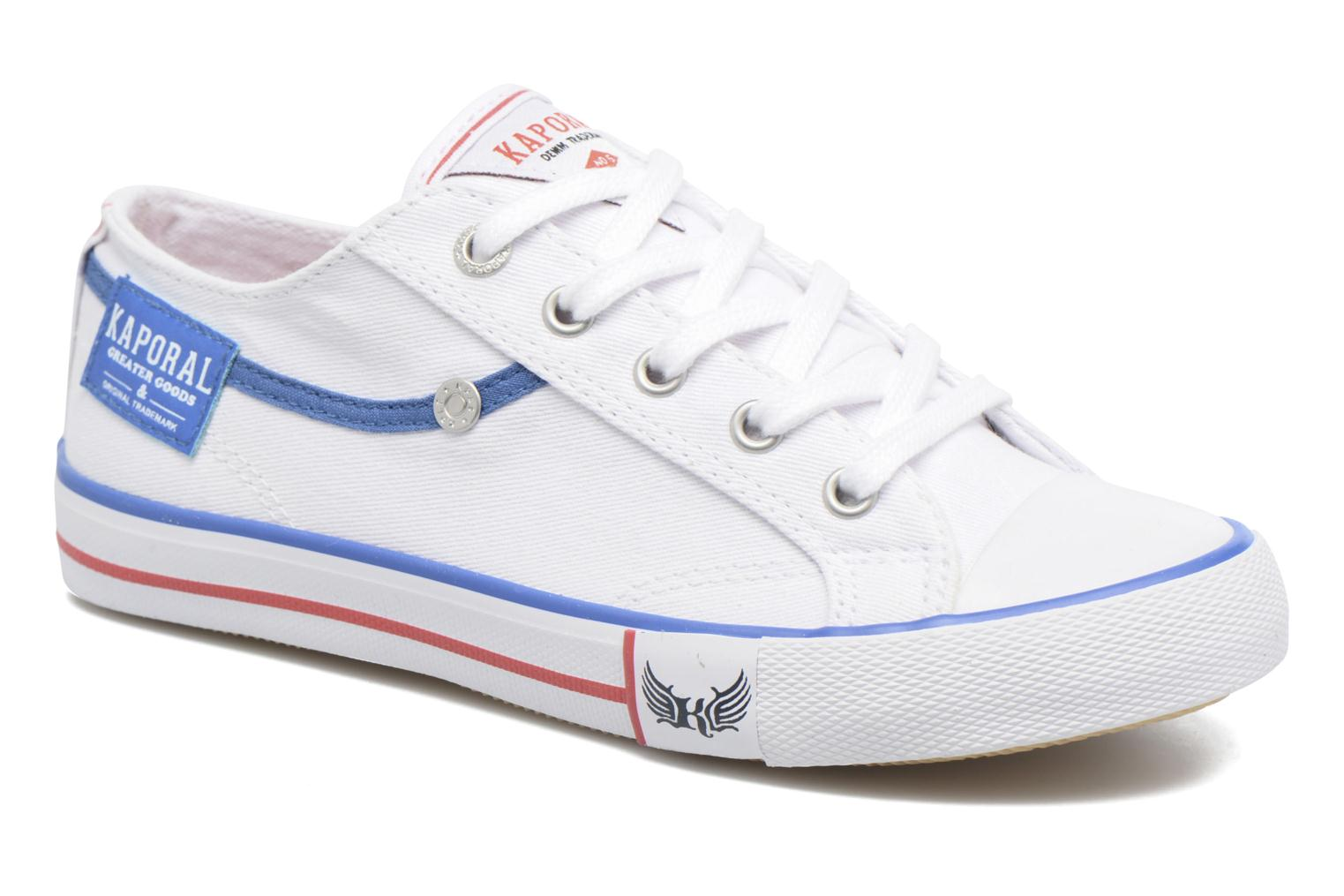 Trainers Kaporal Icario White detailed view/ Pair view