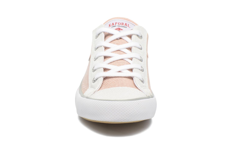 Baskets Kaporal Icario Rose vue portées chaussures
