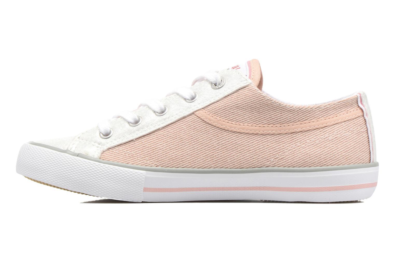 Sneaker Kaporal Icario rosa ansicht von vorne
