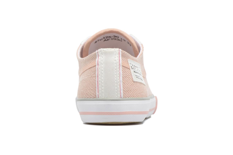 Sneaker Kaporal Icario rosa ansicht von rechts