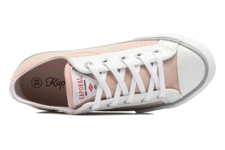 Sneaker Kaporal Icario rosa ansicht von links