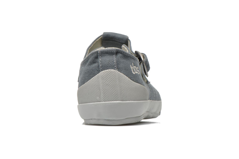Sneaker TBS Oriele grau ansicht von rechts