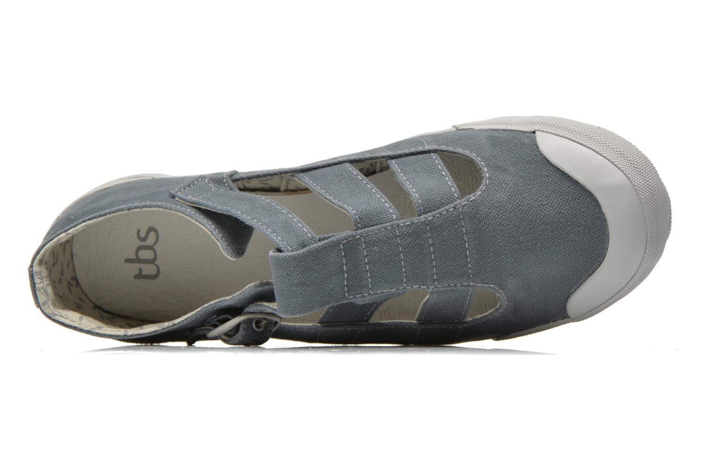 Sneaker TBS Oriele grau ansicht von links