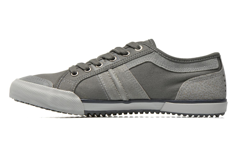 Sneakers TBS Edgard Grijs voorkant